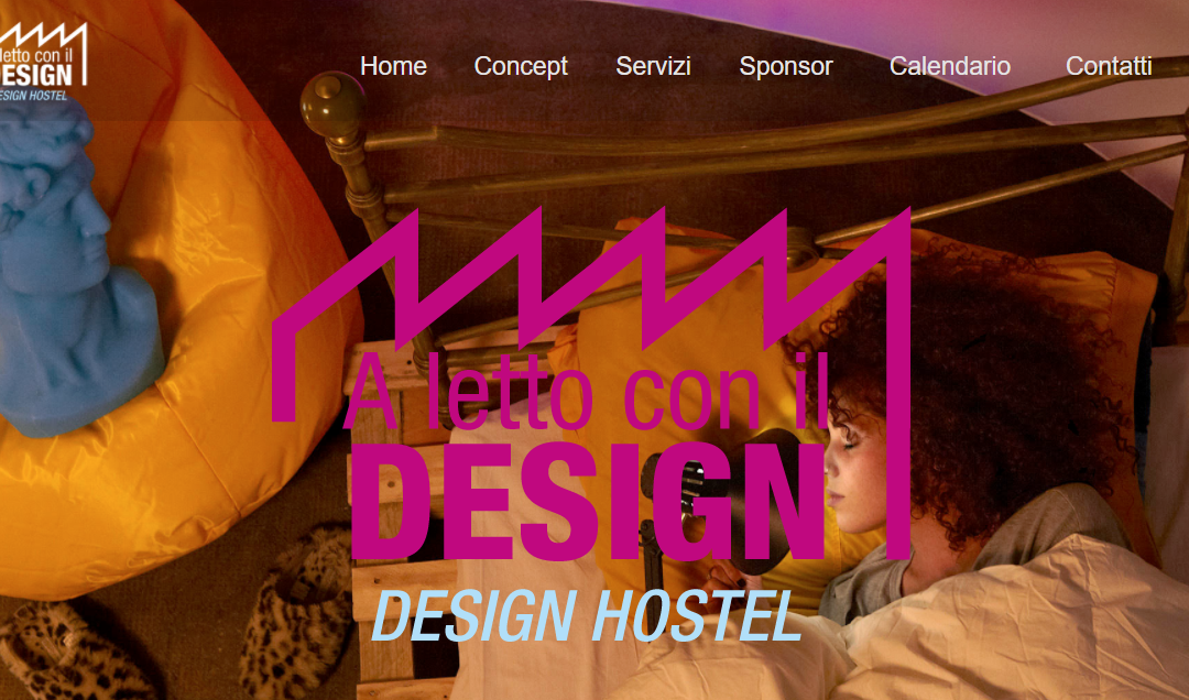 A Letto con il design-  Design Hostel.it