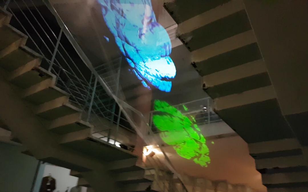 Hologram Vj Set – Live Performance